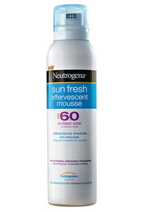 Sun Fresh Effervescent Mousse FPS 60