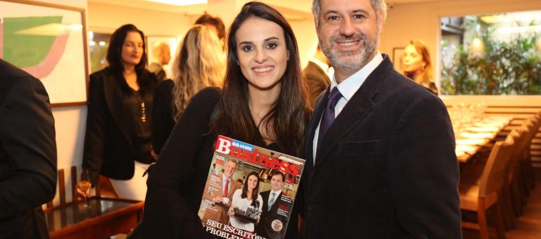 Luciana de Campos Maia Kochen e Arnaldo Kochen