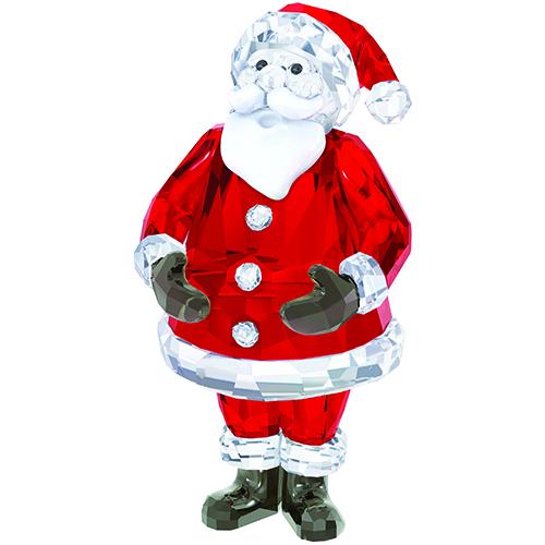 O Papai Noel de cristal