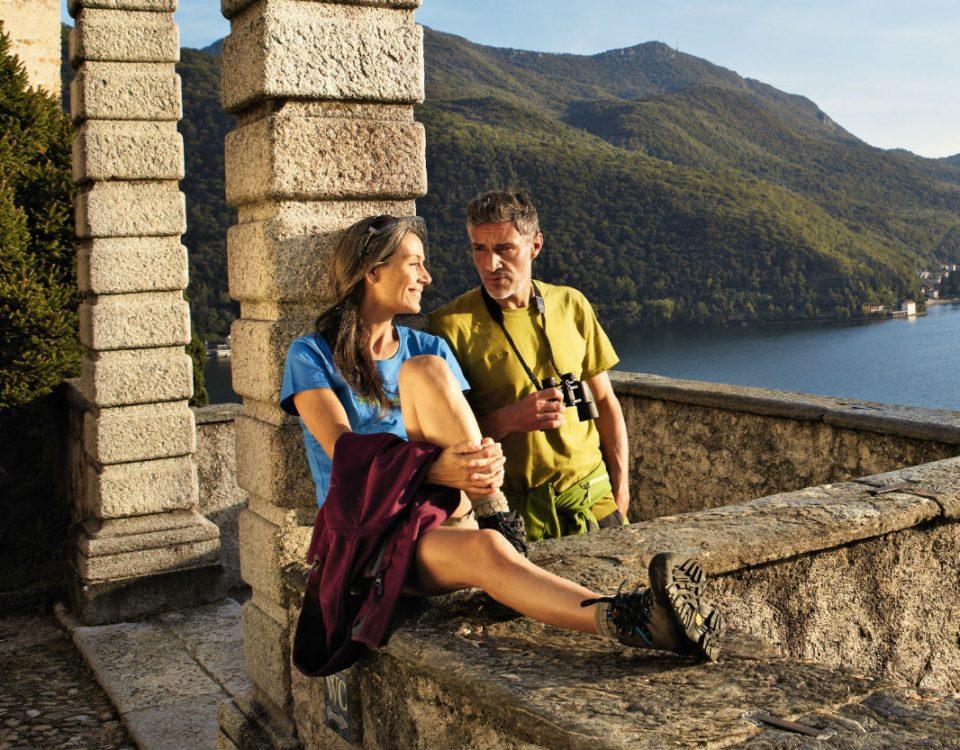 Lake Lugano in Morcote Ticino_abre